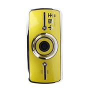 小霸王 小霸行车记录仪王MX600 1080P超高清摄像红外夜视高清150度广角全天停车监控 金色 标配