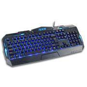 新盟 K39 背光机械手感键盘 lol台式电脑笔记本有线发光 游戏键盘 黑色中板发光