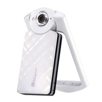 卡西欧 EX-TR500自拍神器美颜自拍数码相机 白色单机版产品图片主图