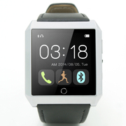 wisebrave 智能手表运动手环健康监测计步器自拍苹果三星小米华为HTC魅族安卓通用 R6S智能手表 银色