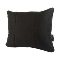 马迪奥 亚麻汽车腰靠 办公靠垫 腰垫 M-黑色产品图片主图