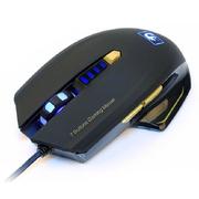 新盟 曼巴狂蛇7D 游戏键盘鼠标套装 USB游戏键鼠套 黑曼巴狂蛇+黑炼狱狂蛇7色背光
