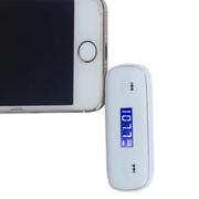 欧利得(olide) fm发射器  苹果iPhone5S 安卓三星 华为手机FM发射器 音乐调频发射器 白色