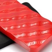 索罗卡 UPower Mix融(1+1)创意移动电源-黑+红色