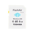 东芝 FlashAir Wireless LAN model W-03 8GB SD-R008GR7AL03A