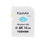 东芝 FlashAir Wireless LAN model W-03 16GB SD-R016GR7AL03A
