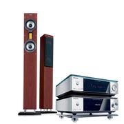 飞利浦 / MCD709/93HIFI级家庭影院 木制音响电视客厅音箱