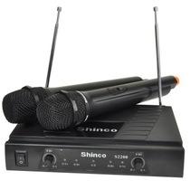 新科 S2200 无线话筒麦克风 一拖二家庭影院KTV电脑K歌产品图片主图