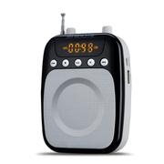 十度 S510小蜜蜂扩音器教师专用教学用大功率腰挂唱戏机支持蓝牙功能教师 导游 讲解员 经典黑丨送专用充电器