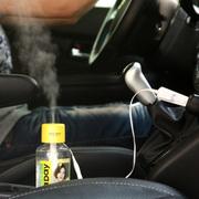 江起点 USB迷你矿泉水瓶盖加湿器 办公桌面/车载空气加湿机 保湿雾化器 蓝色