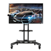 NB CA55(32-55英寸)液晶电视移动推车视频会议移动落地支架挂架