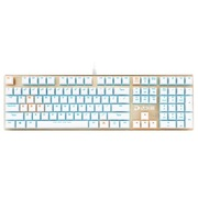 达尔优 机械师合金版 108键背光机械键盘 青轴