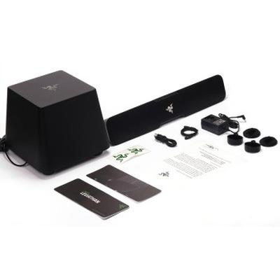 雷蛇 利维坦巨兽 5.1声道条形音箱 黑色产品图片5