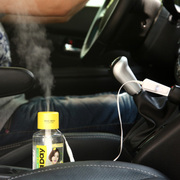 江起点 USB迷你矿泉水瓶盖加湿器 办公桌面/车载空气加湿机 保湿雾化器 黄色