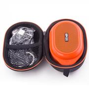 班卓 重低音蓝牙音箱低音炮 小无线音响 便携插卡音箱迷你免提通话器 征途V9 通用配件 橙色V9