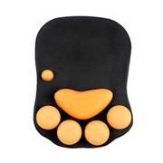 梦天 猫爪护腕硅胶鼠标垫 高级鼠标垫 享誉日本的可爱肉垫 抗压装