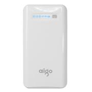 aigo 移动电源K130充电宝12500毫安K150爱国者电子手机平板通用15000毫安 K150白色(15000毫安) 官方标配