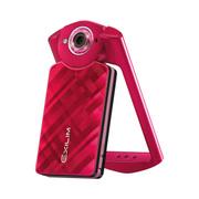 卡西欧 EX-TR500自拍神器美颜自拍数码相机 红色单机版