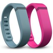 Fitbit Flex 替换腕带 蓝灰和粉红