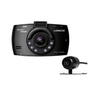 兰科尼 销量10W台 行车记录仪夜视王1080P 双镜头真实超大广角170度 单镜头 32G