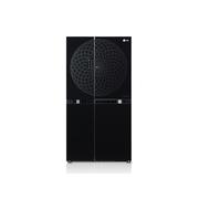 LG GR-M307QGN 800升 大容量 风冷无霜对开门冰箱(黑色)原装进口