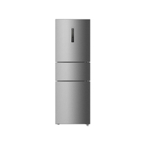 海尔 BCD-260WDBD 260升L 三门冰箱(银色)产品图片主图