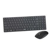 雷柏 9300P无线键鼠套装 黑色