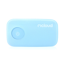 Mcloud 心云 血氧仪 手指夹式脉搏检测仪 血氧饱和度检测仪蓝牙云存储 天蓝色产品图片主图