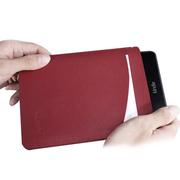 apphome 亚马逊Kindle全系列 Voyage保护套内胆包保护壳插袋皮包防震A级 酒红色 第七代 Voyage 1499款
