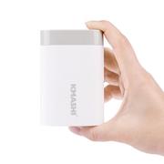 柯玛仕 2小时充满 移动电源 手机充电宝10000毫安 白色