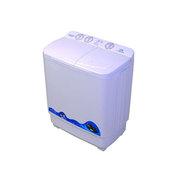 扬子 82-718S 8.2公斤双筒波轮半自动 双桶双缸洗衣机 顶盖白(白色)