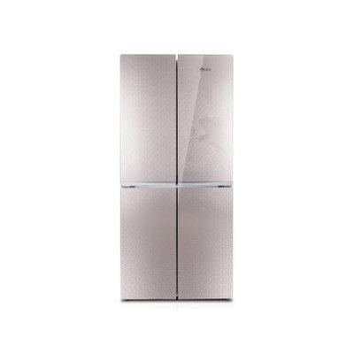 韩电 BCD-408DCV4J 408升对开双门四门冰箱(奢华金)产品图片1
