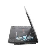 先科 1108黑色移动DVD机12英寸LED外屏 便携式EVD视频高清播放器