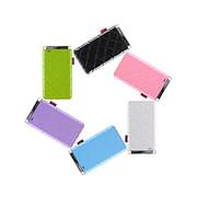 灵骁 迷你苹果6充电宝5s/4s 三星小米苹果移动电源 安卓手机通用 聚合物电芯 浅紫色 5000毫安