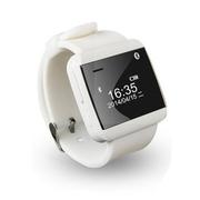 斯波兰 U2S智能蓝牙手表 遥控拍照 智能手镯 腕表 实现蓝牙耳机 免提通话功能 防水 二代标准版黑色