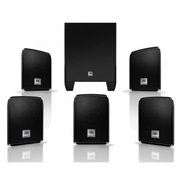 JBL CINEMA510CN 5.1声道电脑电视壁挂式家庭影院套装(黑色)