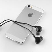 233621 E602线控耳机适用于苹果/三星/小米/华为/OPPO入耳式立体声通用耳机 线控耳机 黑色