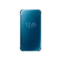 三星 Galaxy S6 镜面智能保护套 冰玉蓝产品图片主图
