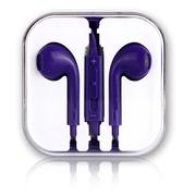 果立方 iphone手机 耳机 耳麦 入耳式 带麦 适用于三星/苹果/HTC/小米/魅族 柠檬黄
