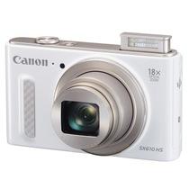 佳能 PowerShot SX610 HS 数码相机(2020万像素 、18倍光学变焦)白色套装(16G卡+相机包)产品图片主图