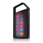 CKY CK008便携式户外无线蓝牙音箱 智能蓝牙4.0迷你小音响 炫彩LED灯音箱 黑色