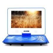 先科 SAST/便携式evd10寸移动DVD影碟机高清带小电视播放机器 浅蓝色