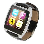 wisebrave 智能手表运动手环健康监测计步器自拍苹果三星小米华为HTC魅族安卓通用 R7 银色 支持安卓和苹果