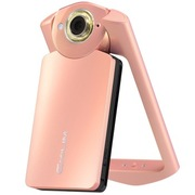 卡西欧 EX-TR550 数码相机 粉色 (1110万像素 21mm广角 自拍神器)