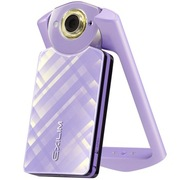卡西欧 EX-TR550 数码相机 浅紫色 (1110万像素 21mm广角 自拍神器)