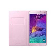 三星 Galaxy Note4 插卡式炫彩保护套 花漾粉产品图片主图