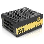 先马 金牌750 额定750W 模组电源 全电压/90%转换效率/80PLUS金牌/日系电容/固态电容/扁线材
