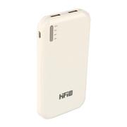 VTag 高蜚 HIFI 超薄双口手机充电宝11200毫安大容量 旅行必备 白色