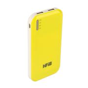 VTag 高蜚 HIFI 超薄双口手机充电宝11200毫安大容量 旅行必备 黄色