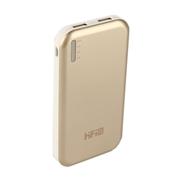 VTag 高蜚 HIFI 超薄双口手机充电宝11200毫安大容量 旅行必备 土豪金